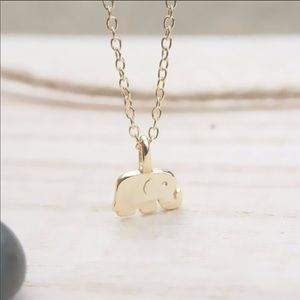 Jewelry - 🐘 Dainty Elephant Pendant Necklace 🐘
